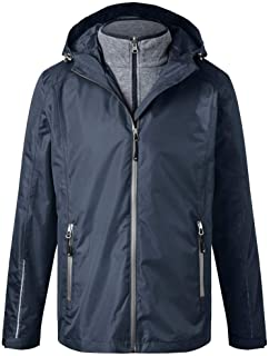 James and Nicholson Mens 3-in-1 Jacket