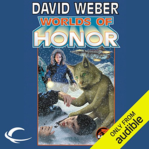 Worlds of Honor     Worlds of Honor #2              Written by:                                                                                                                                 David Weber,                                                                                        Linda Evans,                                                                                        Jane Lindskold,                   and others                          Narrated by:                                                                                                                                 Kevin Collins,                                                                                        Lauren Fortgang,                                                                                        Khristine Hvam,                   and others                 Length: 16 hrs and 57 mins     1 rating     Overall 4.0