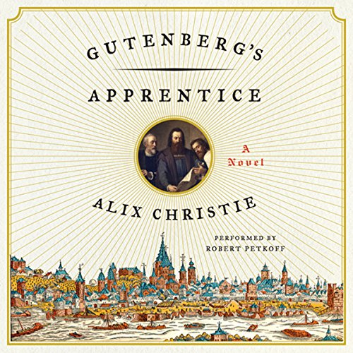 Gutenberg's Apprentice audiobook cover art
