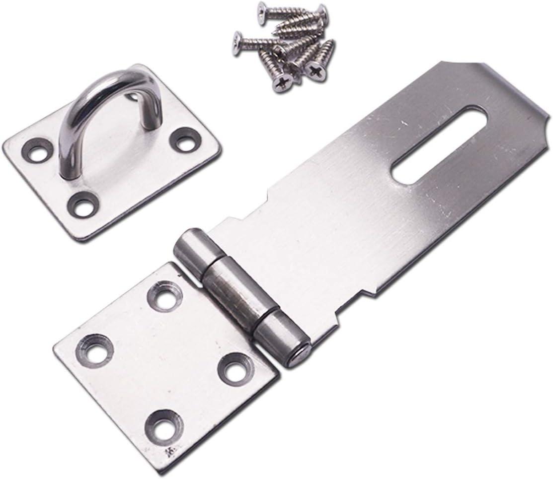 T Tulead Hasp 304 overseas Stainless Import Lock Gate Door Latch Steel
