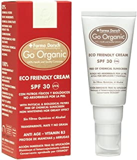Farma Dorsch Go Organic Crema Ecológica SPF 30 - 50 ml.