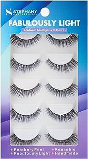 Stephany Natural Multipack 5 Pairs Fake Eyelashes (D 01)