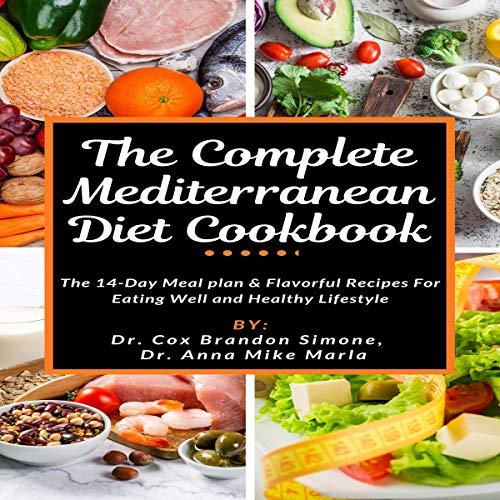 The Complete Mediterranean Diet Cookbook cover art