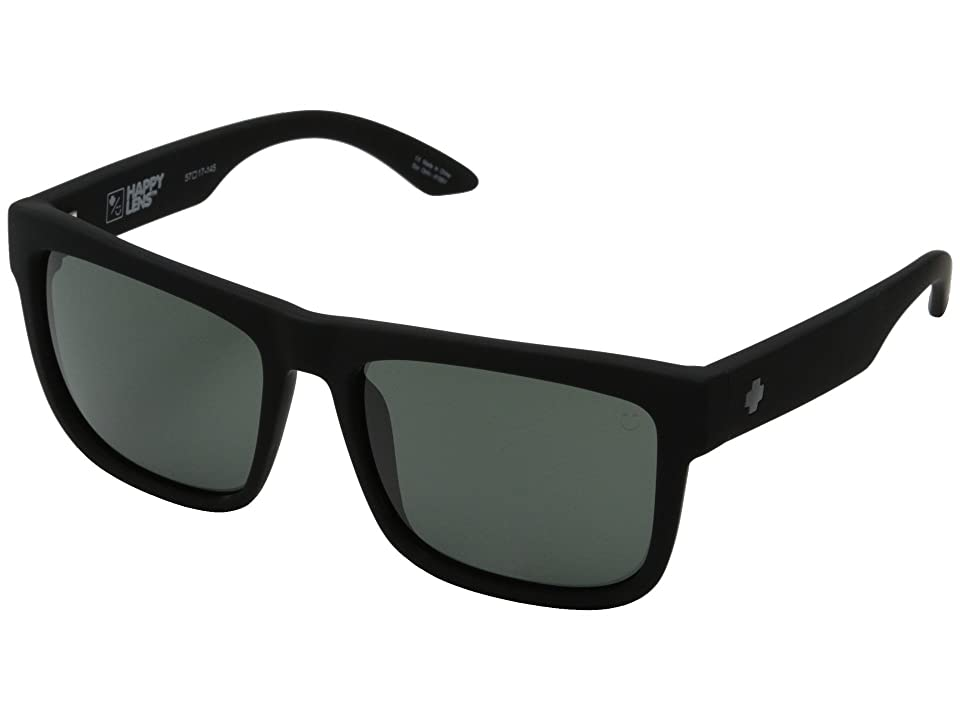 Spy Optic Discord (Soft Matte Black/Happy Gray Green) Sport Sunglasses