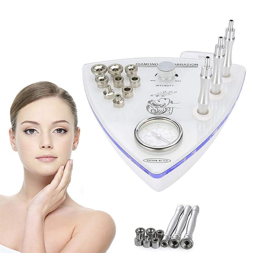 バストペダル反論[アップグレード]ビッグサクションダイヤモンドマイクロダーマブレーションマシン、肌の若返り水保湿酸素スプレーガンフェイシャルケアサロン機器、個人家庭用 (Edition : UK PLUG)