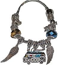 From the Heart 60's VW Volkswagen Van Peace Angel Wings Charm Bracelet is Beautiful for Grandma or MOM