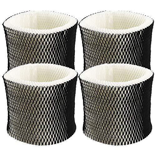 TOMOON HWF65 Ersatz-Dochtfilter, Ersatz für Holmes Sunbeam Bionaire Luftbefeuchter HM1888, HM1889, HM2059, HM3000, HM3800, HM3850, HM4000 Filter C (4 Stück)