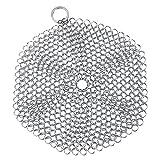 EVTSCAN Strumento per la pulizia della cucina, strumento per la pulizia della rete in acciaio inossidabile per la pulizia delle stoviglie(Il giro)