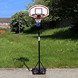 URBAN Outdoor Portable Adjustable Basketball Hoop