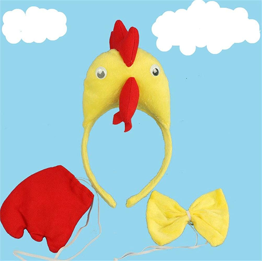 Funny Complete Chicken Cap Cosplay for Party Toddlers Kids Hats Nippon regular agency Discount is also underway