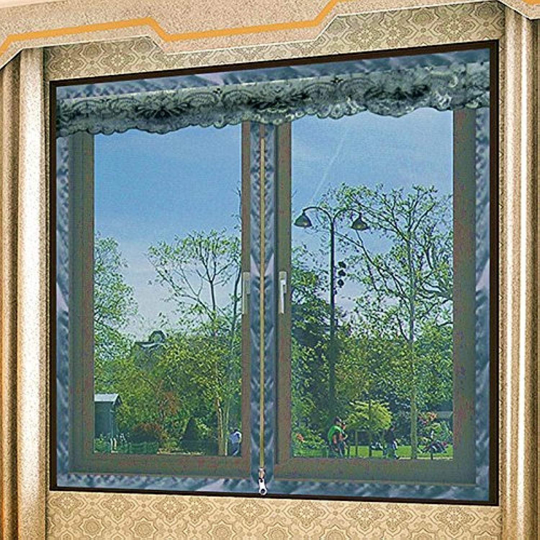 contador genuino YL- Mosquito Window Screens-Self-Adhesive-Summer Puerta de Malla Malla Malla Suave No es Necesario perforar Velcro Hand Wash Curtain (Tamao   150  180cm)  envio rapido a ti