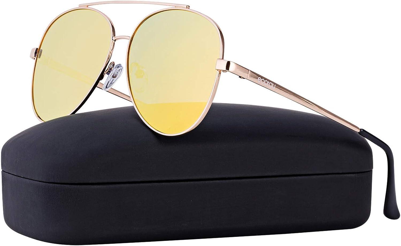 Eoorau Aviator Sunglasses Overside Aviator Sunglasses for Mens & Womens Travel and Drive UV400