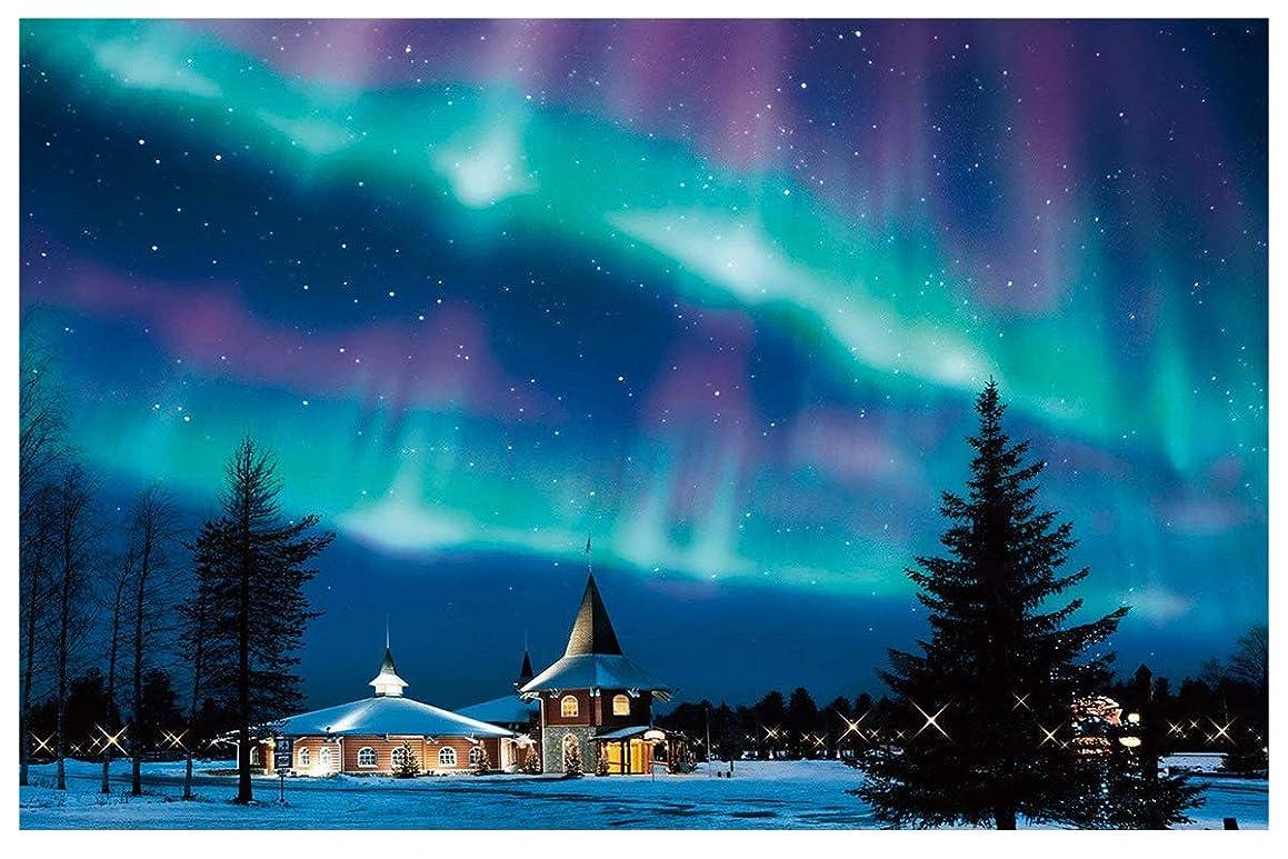 Twuky 5D Diamond Painting Kits Full Drill Diamond Embroidery-Home Decoration Process-Aurora(12X16inch/30X40CM)