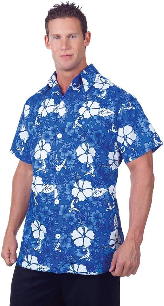Horror-Shop Camisa Hawaiana Azul : Amazon.es: Juguetes y ...