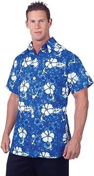 Horror-Shop Camisa Hawaiana Azul : Amazon.es: Juguetes y juegos
