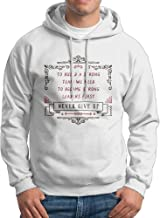 X-JUSEN Men's To Build A Strong Team We Need To Become Strong Leaders First Hoodies Hooded Sweatshirt Pullover Sweater, Novelty Hooded Bodysuits Tops
