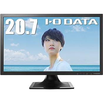 I-O DATA モニター 20.7型 テレワーク向け 非光沢 HDMI×1 アナログRGB×1 スピーカー付 3年保証 土日サポート EX-LD2071TB
