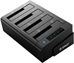 ORICO 40TB USB 3.0 to SATA I/II/III 4 Bay External Hard Drive Docking Station for 2.5 or..