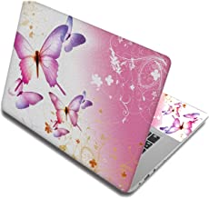 Butterfly Stickers Laptop Skin Decals Computer Sticker For Lenovo/Hp/Macbook Air/Dell,17 Inch,Laptop Skin 6