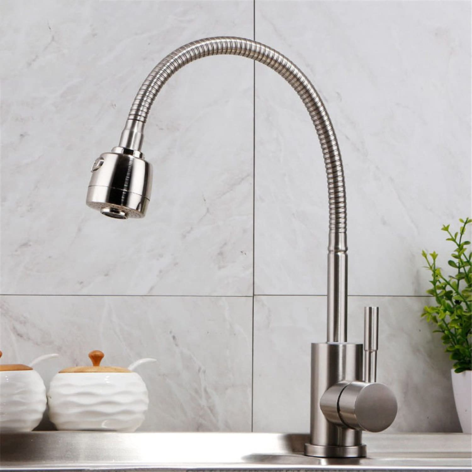 Gyps Faucet Basin Mixer Tap Waterfall Faucet Antique Bathroom Stainless steel kitchen faucet hot and cold dishes redating wash basin sink with Shower Faucet Bathroom Tub Lever Faucet