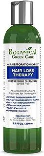 """Hair Loss Therapy"" Sulfate-Free Caffeine SHAMPOO, Alopecia Prevention and DHT Blocker. Anti-Hair Loss/Hair Growth Shampo..."