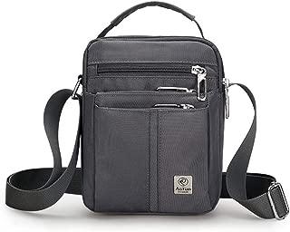 Bageek Men Shoulder Purse Splash Proof Satchel Bag Crossbody Purse for Business