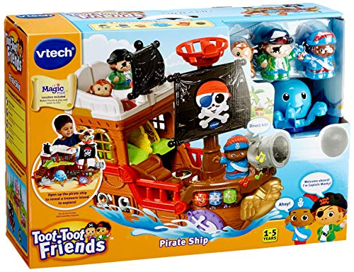 VTech 177803 Toot Friends Kingdom Pirate Ship Toy, Multi-Colour, 16.5 x 45.8 x 35 cm