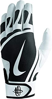 free shipping b9bb9 856b6 Nike Huarache Edge Gants de Frappe pour Homme Blanc Noir Taille S