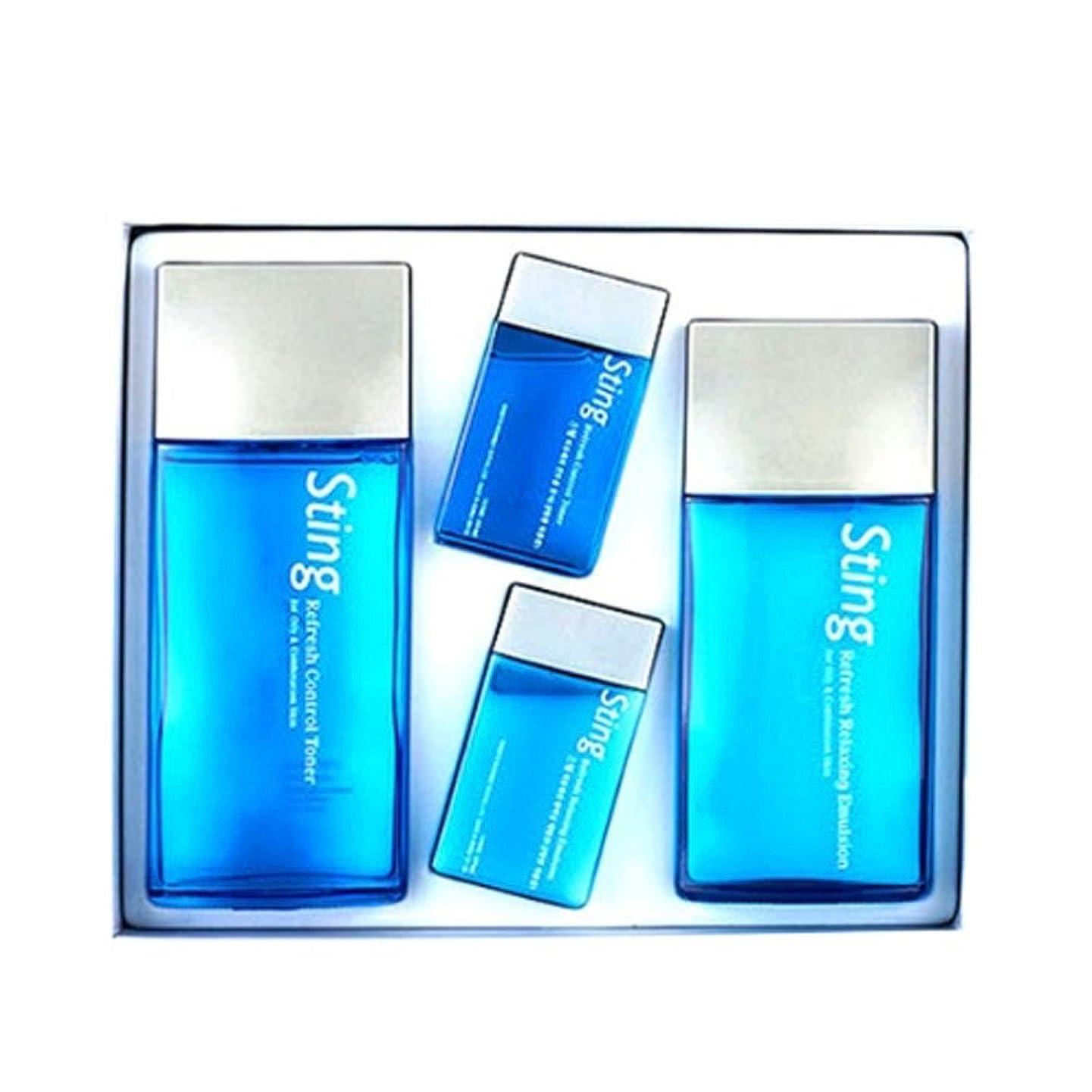 放棄麻酔薬多分エンプラニ、スティングリフレスィトナー(140+40ml) エマルション(120+40ml) メンズコスメ、Enprani Sting Refresh Toner(140+40l) Emulsion(120+40ml) Men's Csmetics [並行輸入品]