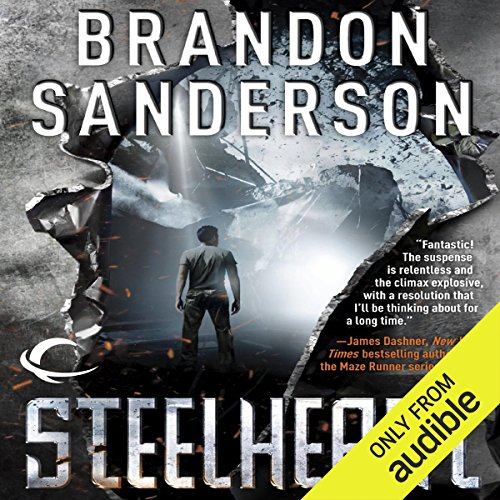 Steelheart     The Reckoners, Book 1              By:                                                                                                                                 Brandon Sanderson                               Narrated by:                                                                                                                                 MacLeod Andrews                      Length: 12 hrs and 42 mins     30,231 ratings     Overall 4.5