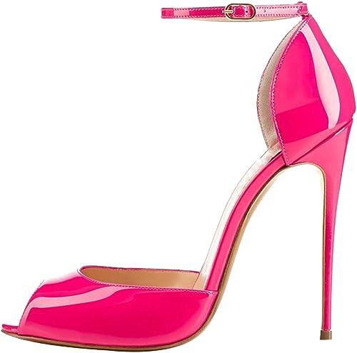 Calaier Calaier Femme Cafarmer 12CM Aiguille Boucle Escarpins Chaussures  en soldes