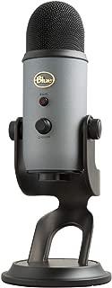 Blue Yeti USB Microphone-Slate, (988-000098)