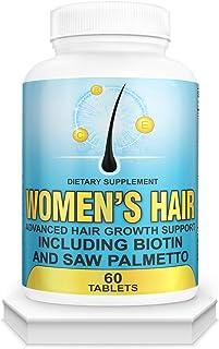 Hair Growth Vitamins for Women-DHT Blocker, Anti Hair Loss,Hair Growth Supplement for Perfect Hair.Hair Growth Pills for T...