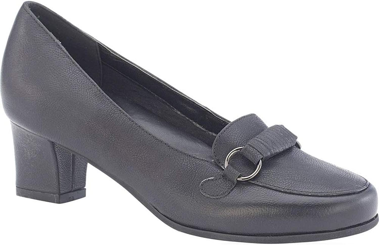 David Tate Wouomo Perky Tailorosso Pumps, nero, 12 WW