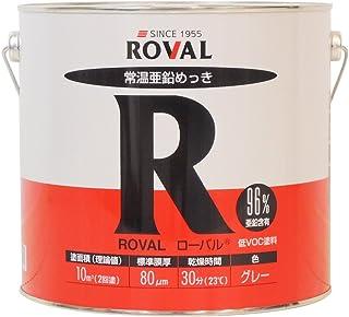 ROVAL 常温亜鉛メッキ塗料 ローバル R-5KG 5kg