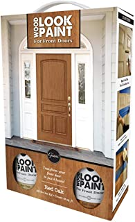 Giani Wood Look Paint Kit for Front & Interior Doors (Red Oak)