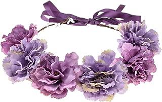 Best purple flower headband Reviews
