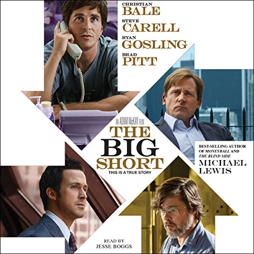 The Big Short audiobook cover art