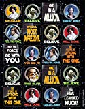 Eureka Classroom Supplies Star Wars Stickers, Theme, 120 pc, 1.4'' W x 1'' H.