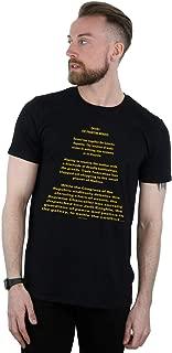 Star Wars Men's The Phantom Menace Opening Crawl T-Shirt