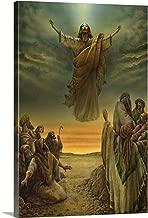 Jesus Ascending into Heaven Canvas Wall Art Print, 32