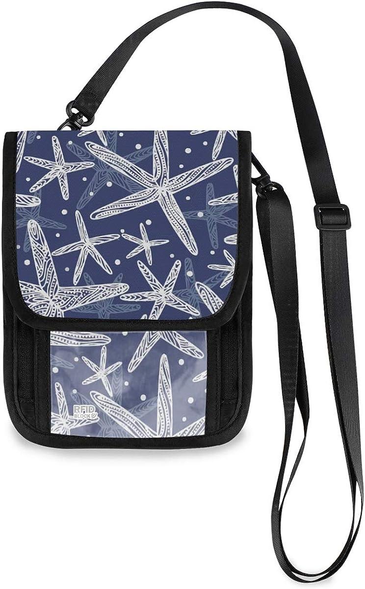 excellence VIKKO Starfish Pattern Travel Neck - Blocking RFID Wallet With Max 48% OFF