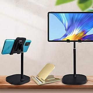 Tablet/Phone Stand, Universal Adjustable Aluminum Desktop Stand, for New iPad 2020 Pro 10.5/9.7/12.9, Air Mini 2 3 4, Sams...