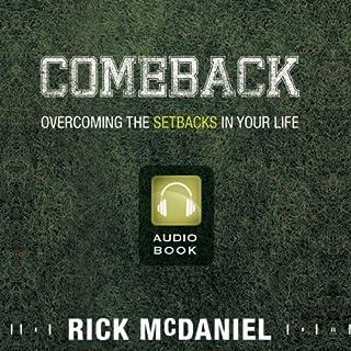 Comeback audiobook cover art