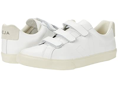 VEJA 3-Lock (Leather Extra White) Men