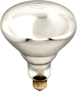 Bulbrite Incandescent BR40 Medium Screw Base (E26) Light Bulb, 250 Watt, Clear Tough Coat