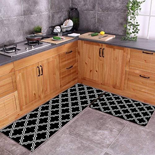 Generie Bathroom Entrance Door Mat Washable Non-Slip Kitchen Floor Mat Bedroom Living Room Bedside Area Rugs Waterproof Modern Carpet
