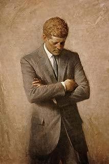John F Kennedy Official Presidential Portrait Cool Wall Decor Art Print Poster 24x36