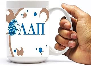 VictoryStore Ceramic Mugs - Alpha Delta Pi, Bubble Coffee Mug, 15oz