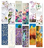 on sales! 60 pcs encouraging bookmarks set - colorful flower floral bookmark- best gift for him and